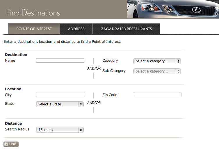 Lexus Enform Edestination System My Personal Overview Of