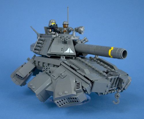 Iron Mountain Legion - Prototype Hover Tank - 07 | by Happy Weasel