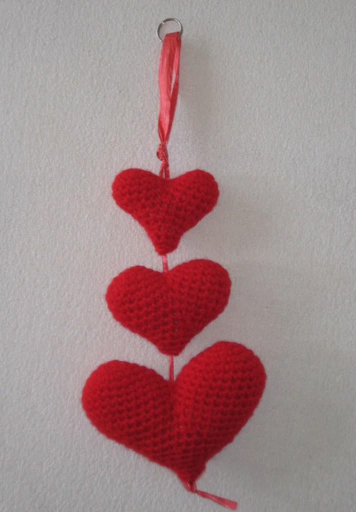 Crochet Pattern Amigurumi Turtle Crochet Keychain : Corazoncitos Corazoncitos amigurumi hearts pattern by ...