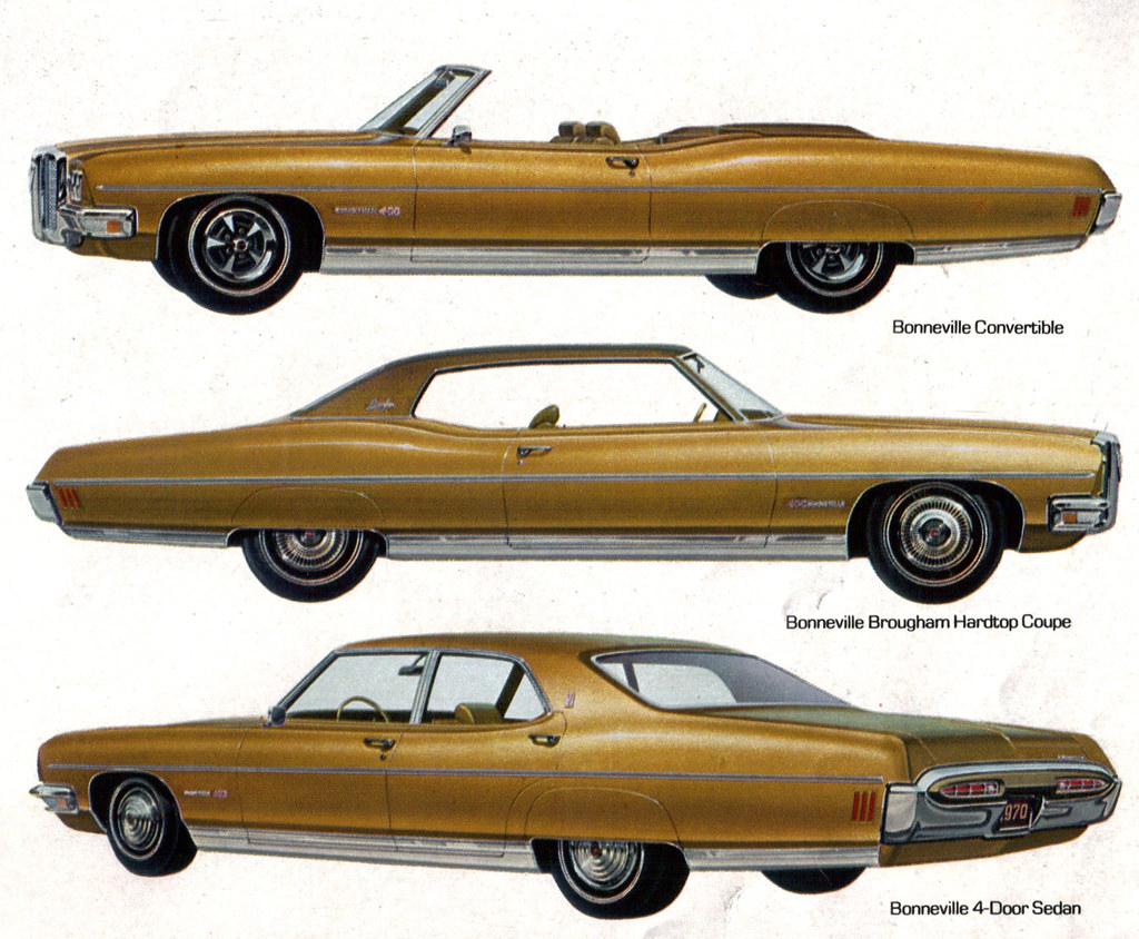 1970 Pontiac Bonneville Convertible, 2 door Hardtop and 4 … | Flickr