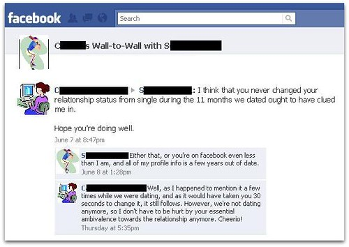 But...but...if your relationship was never public on Facebook, did it ever really exist?! | by passiveaggressivenotes