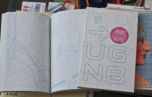 Urban Gridded Notebook | by handmaps