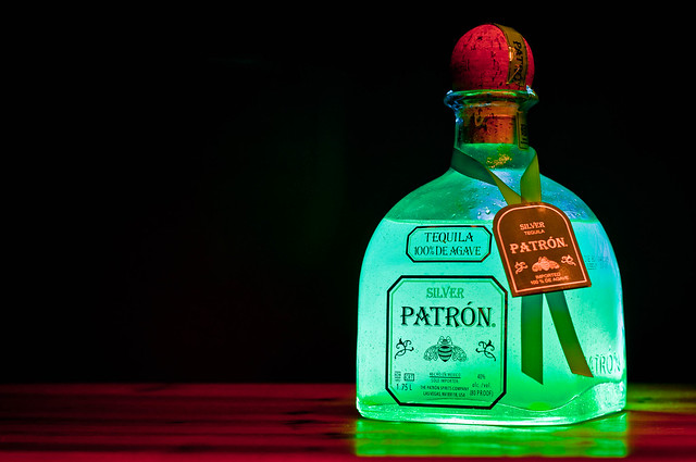 Patron Sliver Glowing Green Flickr Photo Sharing