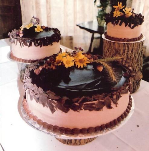 Woodsy Wedding Ideas: Woodsy Theme Wedding Cake