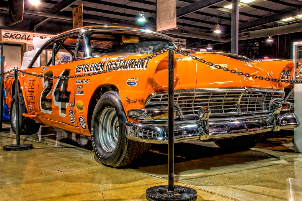 1950 S Ford Stock Car This 50 S Ford Is On Display At
