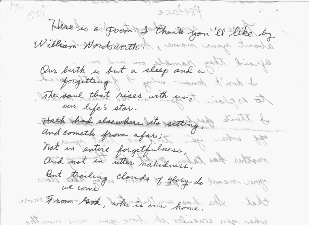 wordsworth - ode on intimations of immortality | Flickr - Photo ...