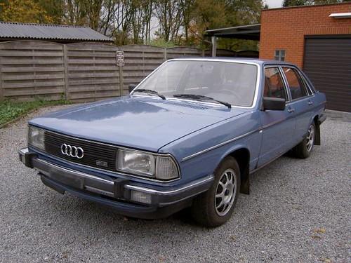 Audi 100 5e Type 43 1982 Kapaza Be Willem S Knol Flickr