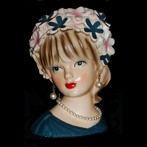 Relpo Lady Head Vase K1662 27 1 Head Vases Flickr