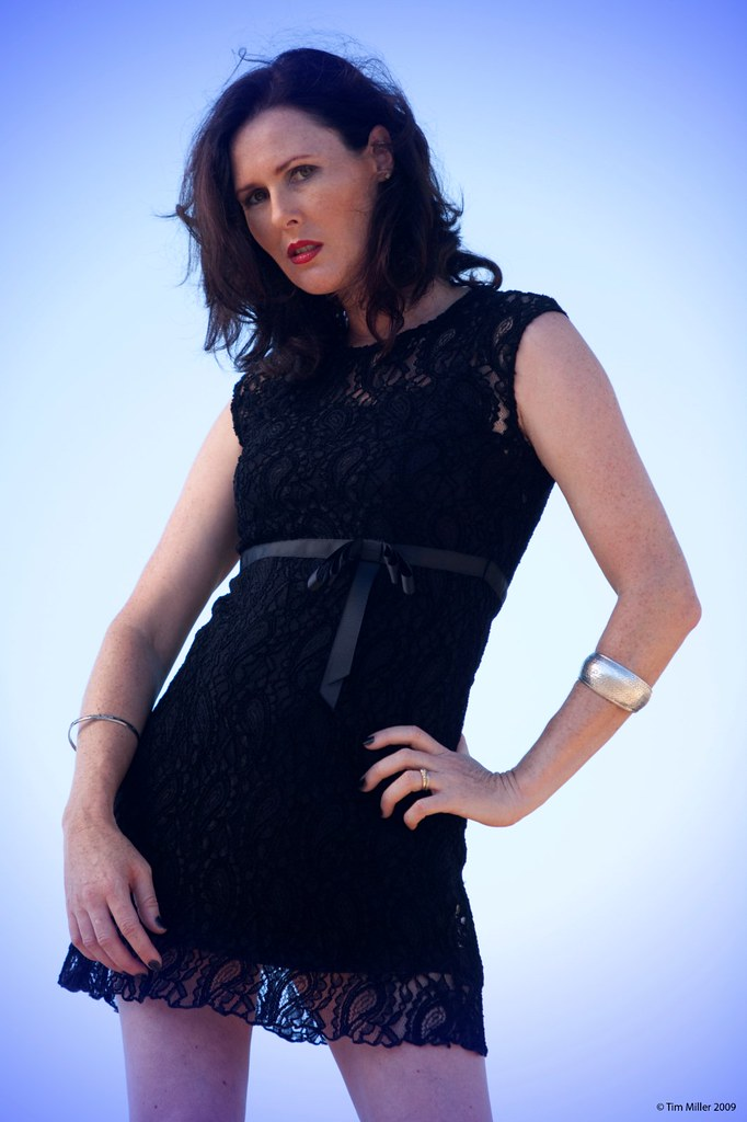 model Tanya bondage james
