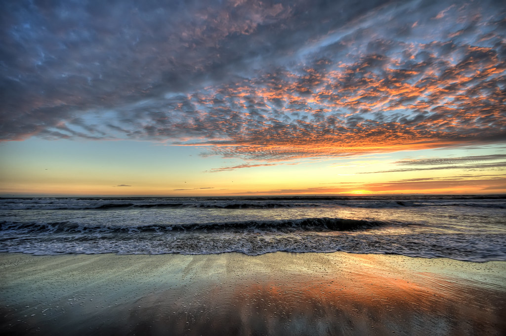 Santa Monica Sunset HDR | View On Black Sunset at the Santa … | Flickr