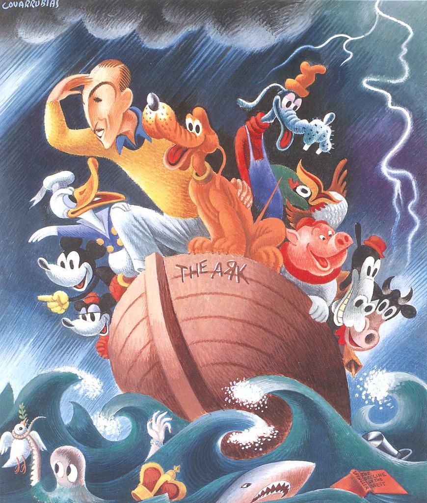 Walt Disney Miguel Covarrubias, 1937 Gouache | Walt Disney ...