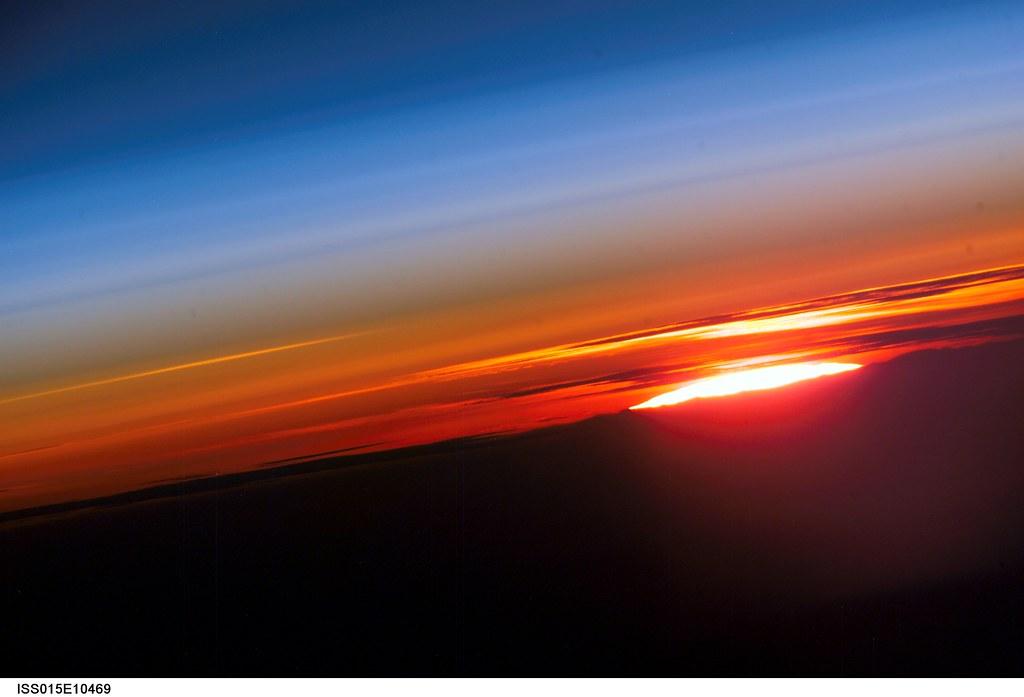 shuttle nasa sunrise - photo #30