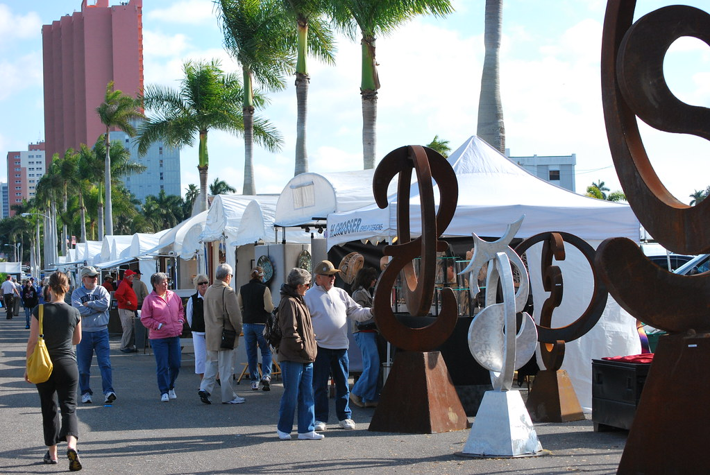 Fort myers art show pat cletch williams flickr for Craft fair fort myers