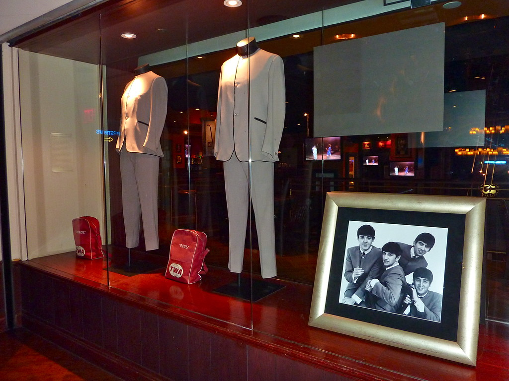 Beatles Memorabilia Hard Rock Cafe