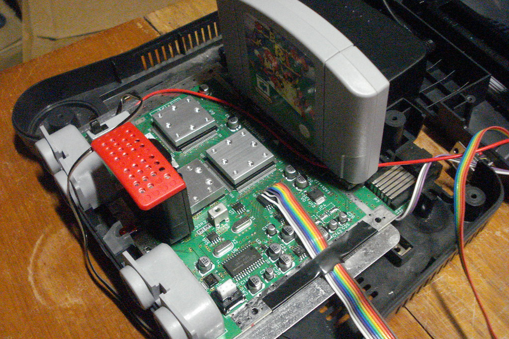 Nintendo 64 Internals My N64 Exposed For The World To