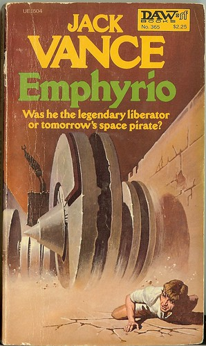 Jack Vance - Emphyrio - cover artist Gino D'Achille - DAW No. 356 -  December 1979
