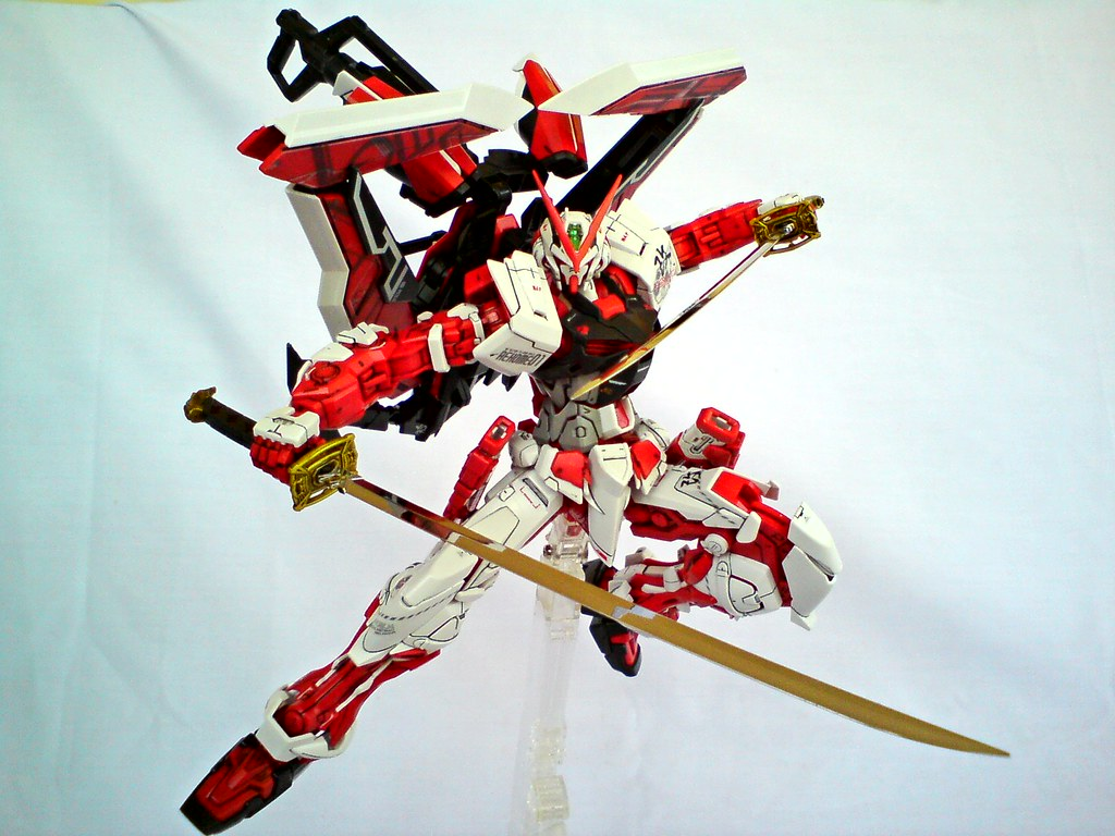 Mg Gundam Astray Red Frame Kai While Red Frame Had The