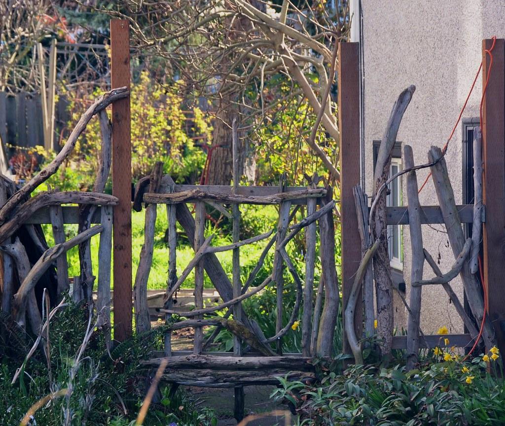 Driftwood Gate Princess Street North Park Neighbourhood Flickr