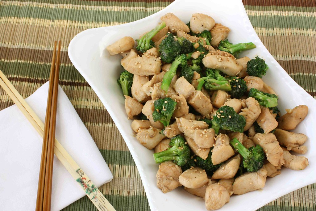 Chicken  Broccoli Stir-Fry With Oyster Sauce Recipe  Flickr-6126