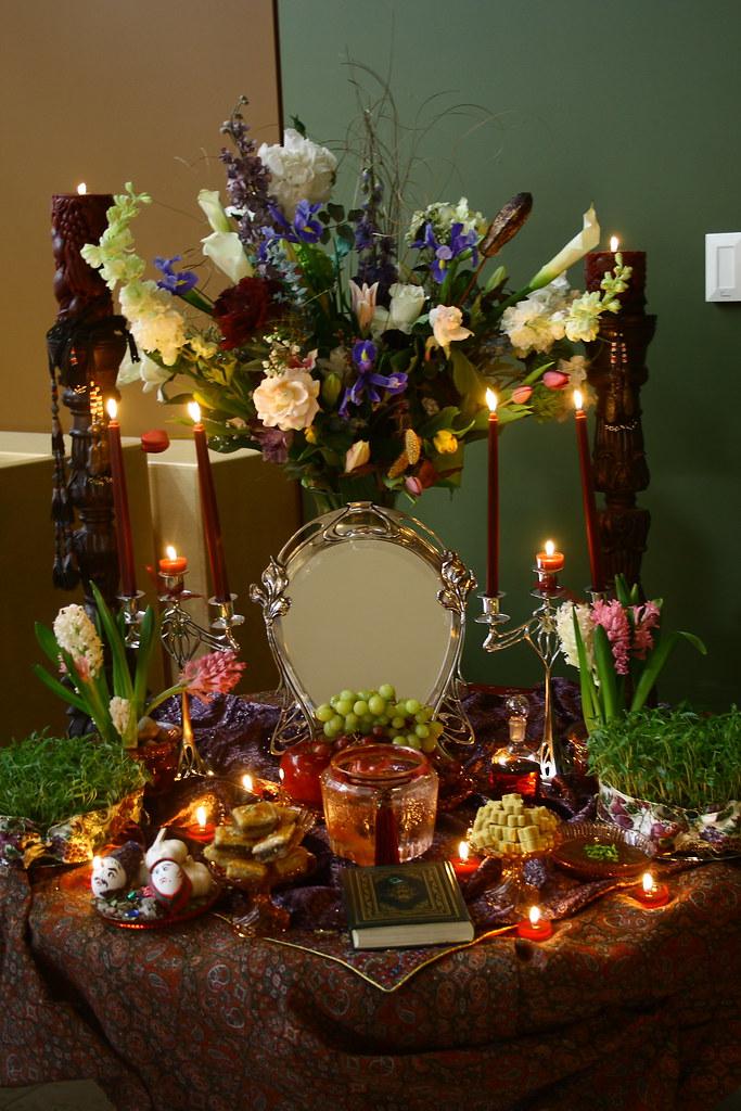 New Persian Year Nowruz نوروزتان پیروز Our Haft Sin