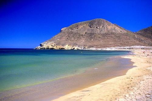 Playas virgenes de mojacar moj car tiene un gran n mero - Costa sol almeria ...