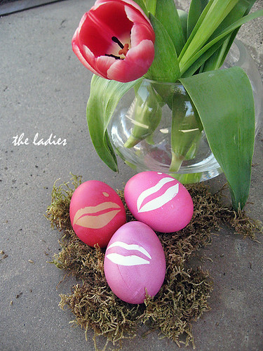 easter eggs -marilyn lips with mole | by ...love Maegan