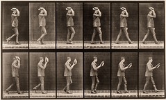Walking, taking off hat | by George Eastman House