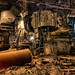 Industrial Plant (Steel Mill) Interior - can you see the heat  - Chicago