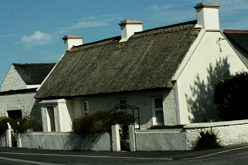 Thatched Cottage in Ireland | by rosewoodoil