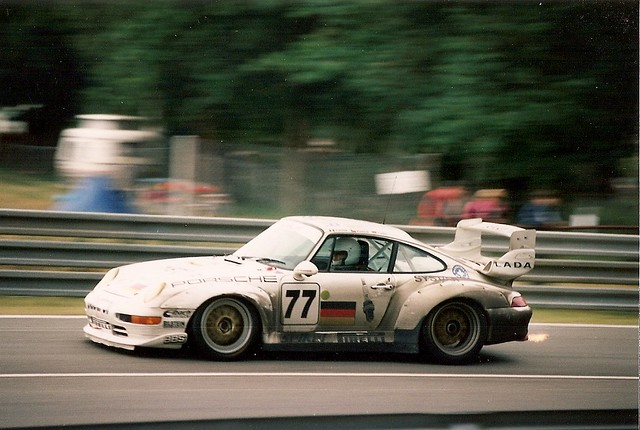 porsche 911 gt2 le mans 1995 15th overall for this car flickr. Black Bedroom Furniture Sets. Home Design Ideas