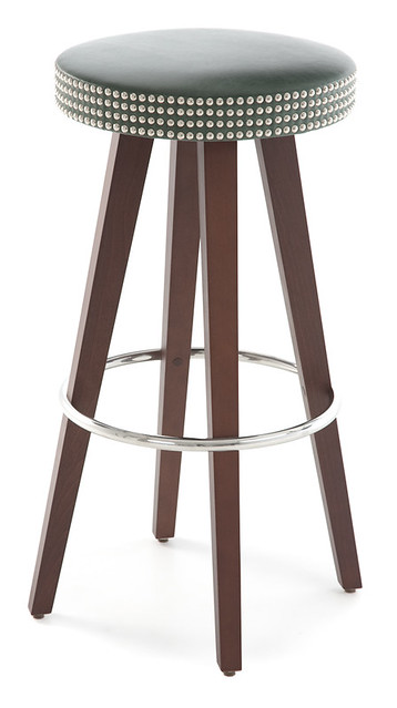 Bespoke Studded Bar Stool The Sofa And Chair Company Is