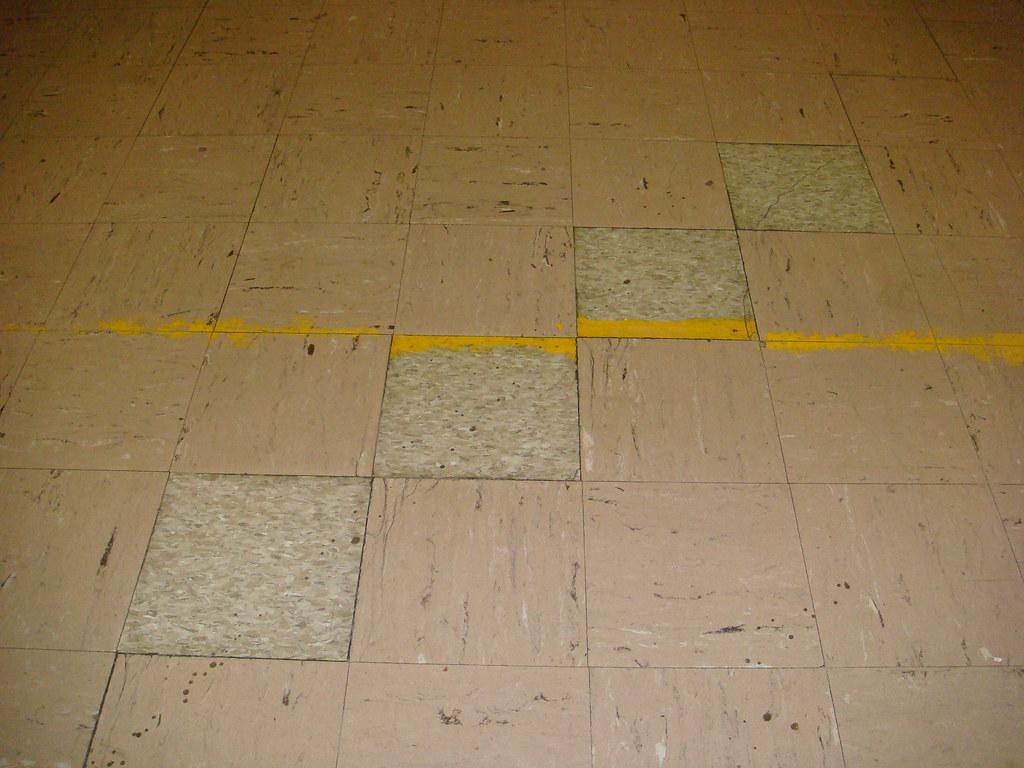 Floor tile asbestos