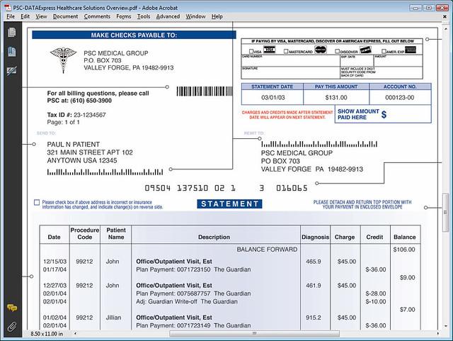 Patient Statements Automate Your Patient Billing