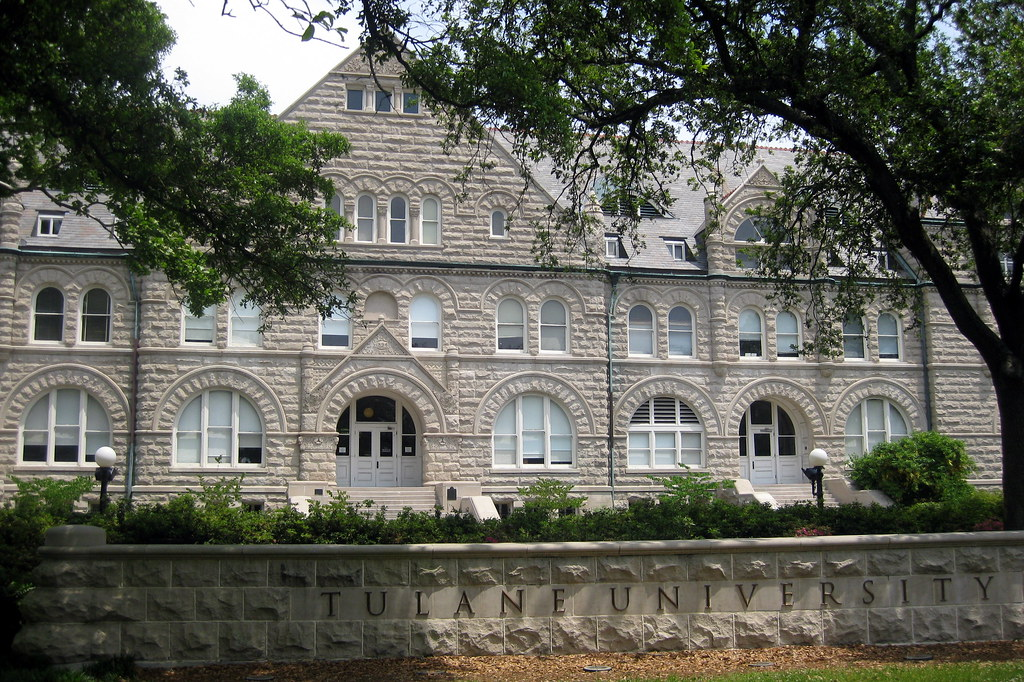 New Orleans Uptown Tulane University Gibson Hall Flickr