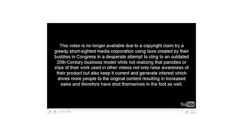 Youtube Copyright Takedown Notice | by shane_d_k