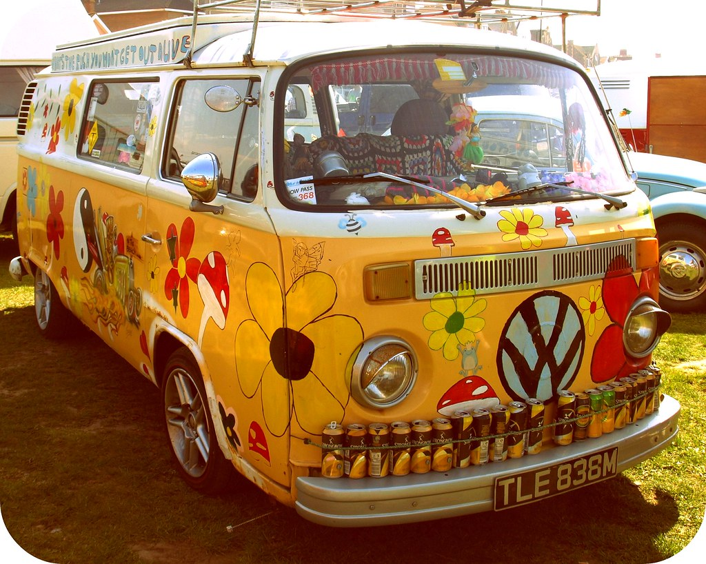 Image Gallery hippie cars 70s