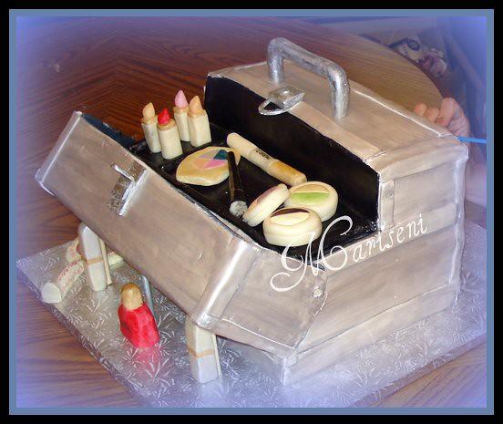 Makeup Train Case 30th Birthday Cake Sephora Train Case I Flickr