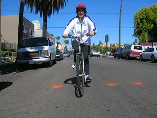 Sharrows test ride | by LACBC