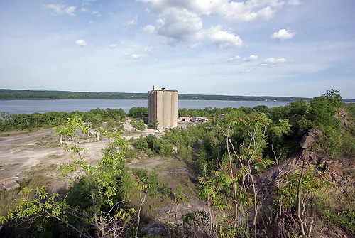 cement factory from a cliff | by nerradk