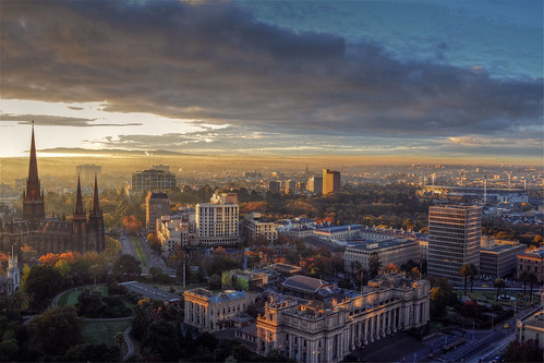 East Melbourne Panorama | by Atilla2008