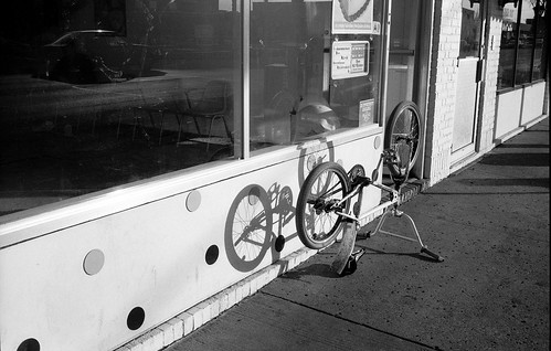 Baskin-Robbins Bike, Minneapolis, MN, 1987 | by Maggie Osterberg