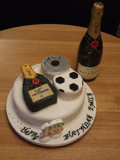 Fondant Cake For Girl