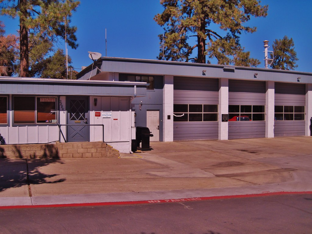Pine Valley Fire Station, San Diego County, Calif.   Flickr