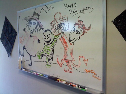 Whiteboard drawing nightmare before christmas my for Cool stuff to draw on a whiteboard
