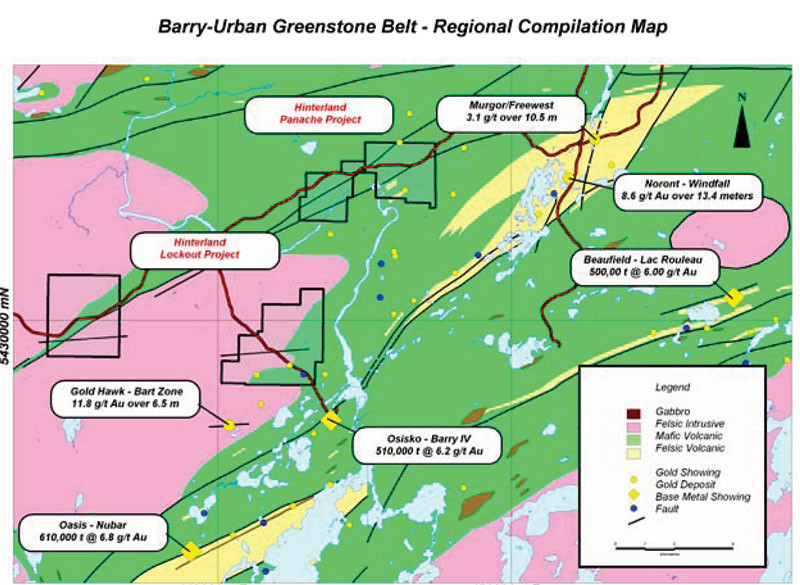 BarryUrban Greenstone Belt Regional Map Hinterland holds Flickr