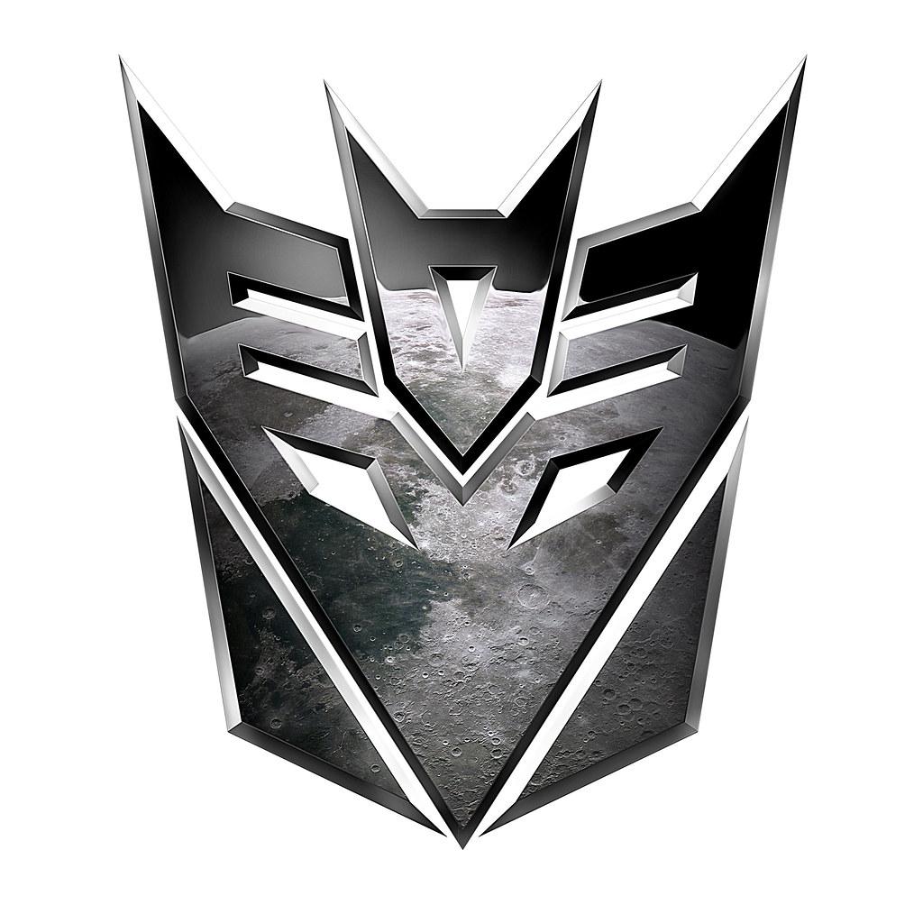 Transformers Dotm Tf3 Decepticons Logo Symbol Clipped Flickr