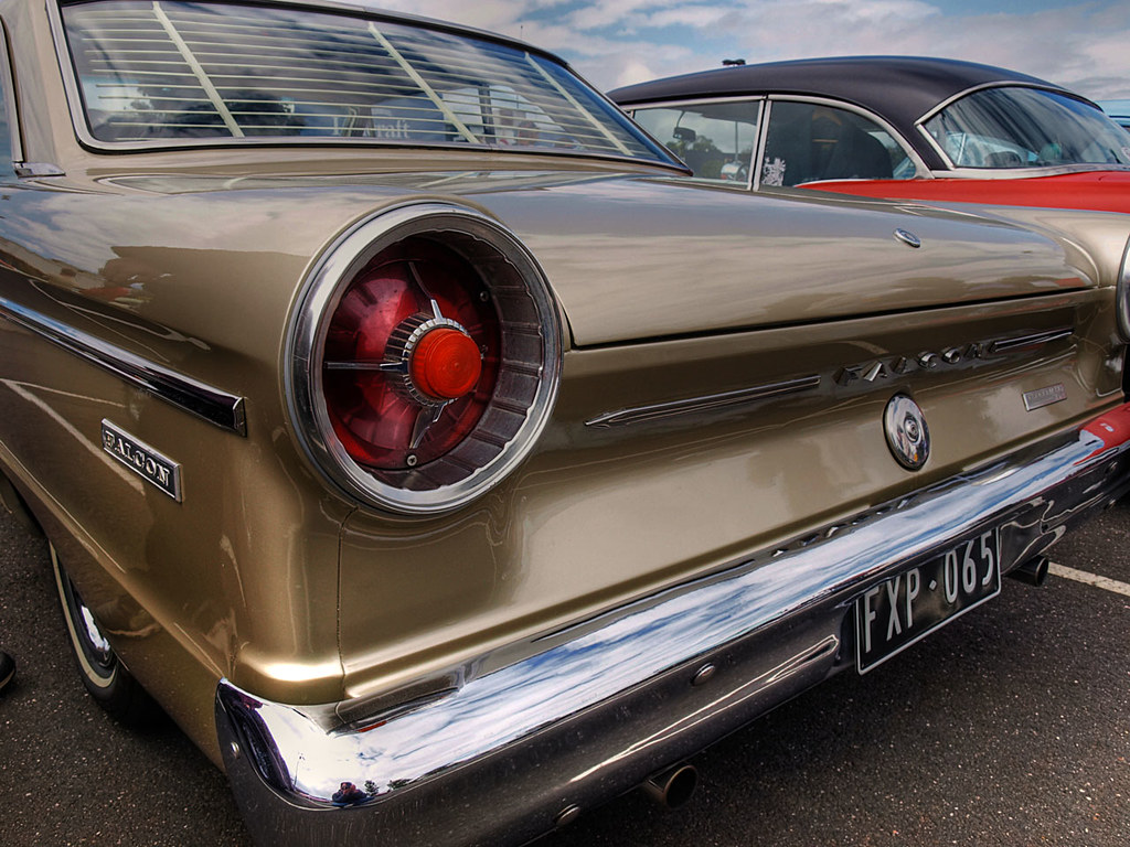 1965 Xp Falcon The Rear Of An Australian Made 1965 Ford