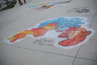 Completed drawing at Broome Library's 2008 Artwalk | by California State University Channel Islands