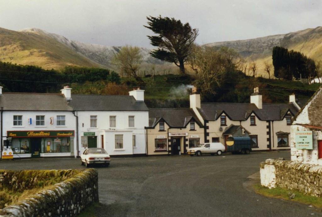 Lionan Leenane Village Co Galway Ireland April 1989