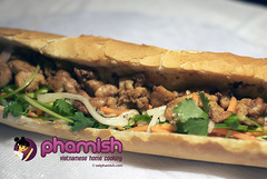 Lemongrass Chicken Banh Mi | by eatphamish